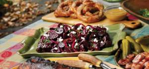 Roasted Beet Salad on the Grill