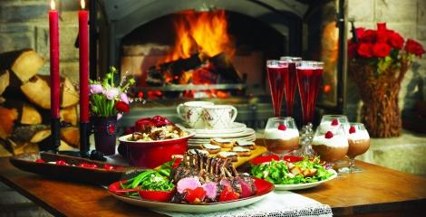 valentines menu grill